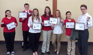 Seven SHS Students Recognized at the FCCLA Leadership Conference
