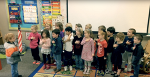 EEE News with Mrs. Adams' Kindergarten Class