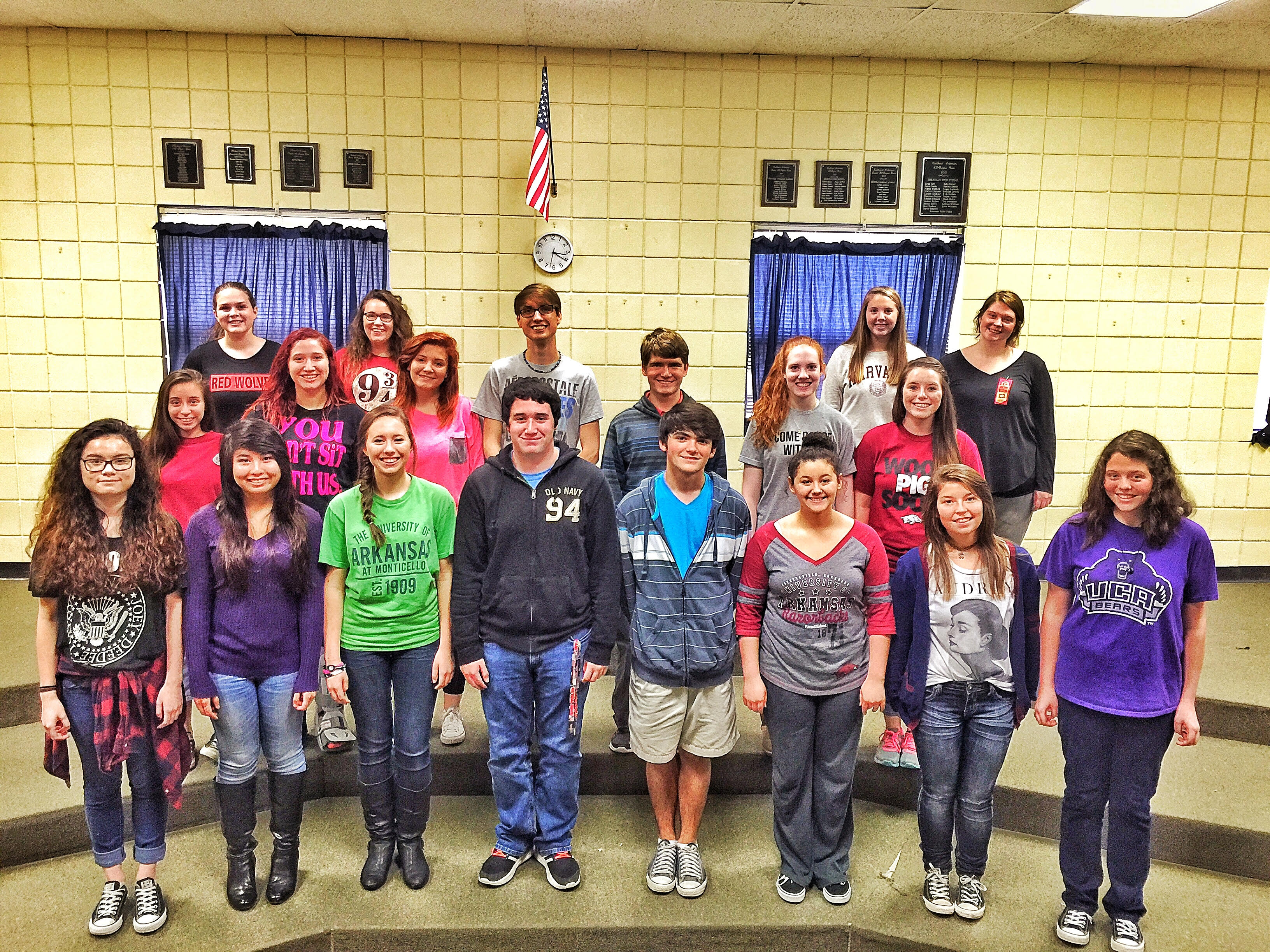 Twenty-Three SHS Students Earned Their Way into All-Region Choir