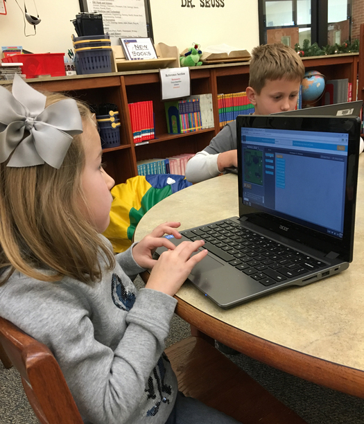 All SES Classes Participate in the Hour of Code Event