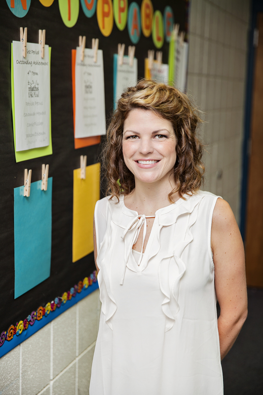 SHS Teacher Morgan Wilson Poses for a Picture. She is a regional finalist for the Arkansas Teacher of the Year Program