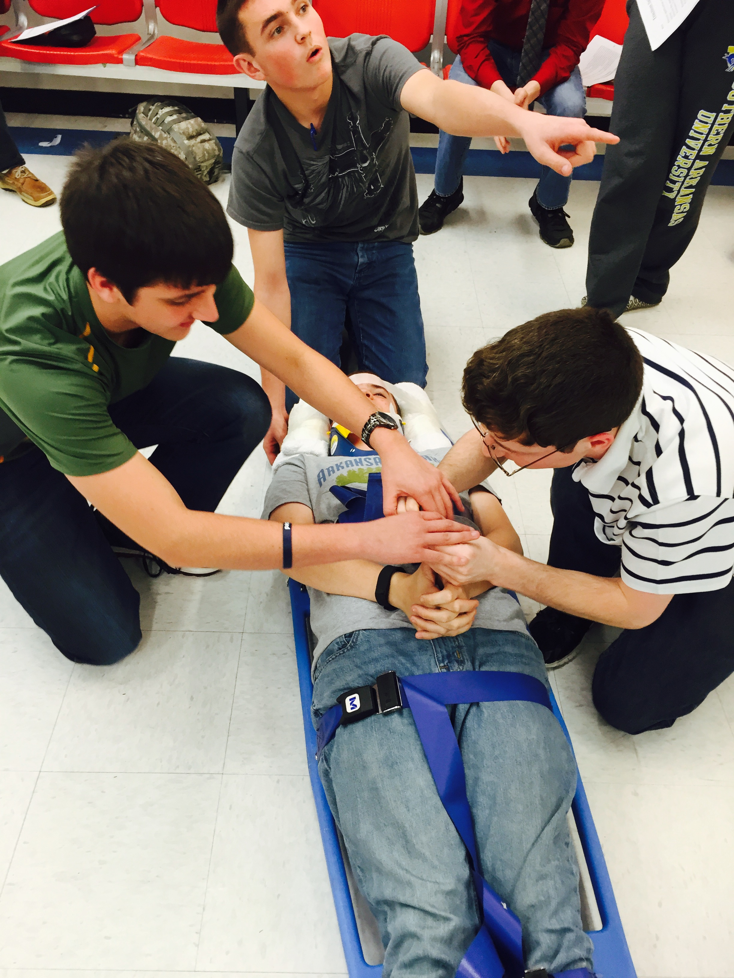 SHS Students Complete Emergency Medical Responder Course