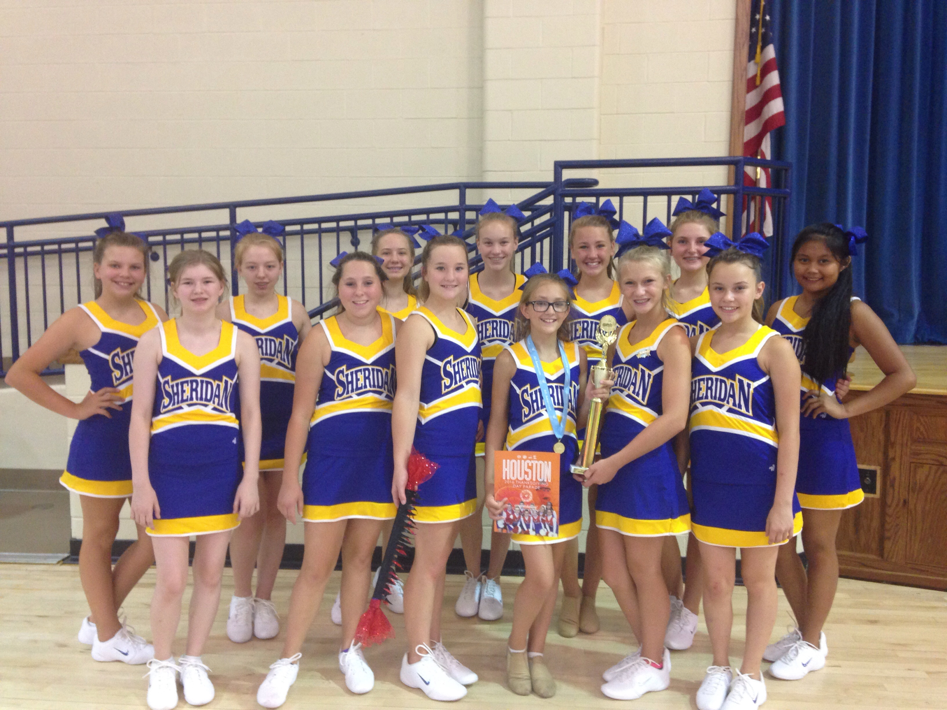 SJHS Dance Team Win Several Awards at Dance Camp