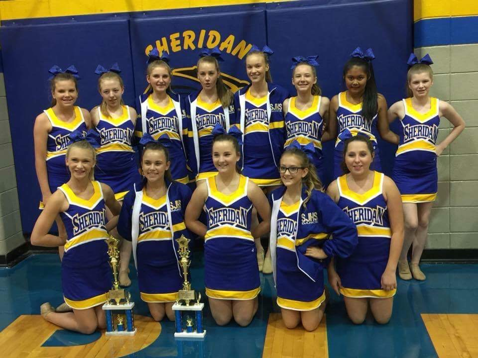 Sheridan Dance Teams Win Several Awards at the Sheridan Dance Invitational