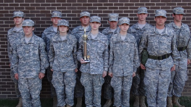 Sheridan's JROTC Raider Challenge Team Places Second in Four Events